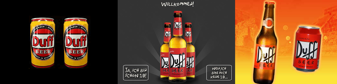 Germania are două beri DUFF cu producători diferiți