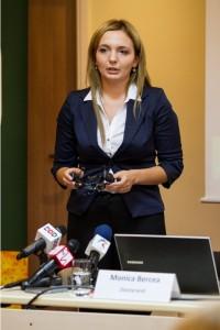 Monica Bercea, doctorand, autorul studiului