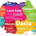 harta celor mai iubite branduri
