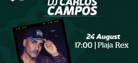 Petrecere exclusivă Carlsberg în Mamaia, cu DJ Carlos Campos