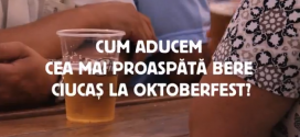 Lantul uman Ciucas la Oktoberfest Brasov