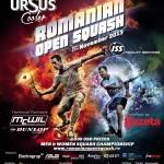 Ursus COOLER organizează Romanian Open Squash!